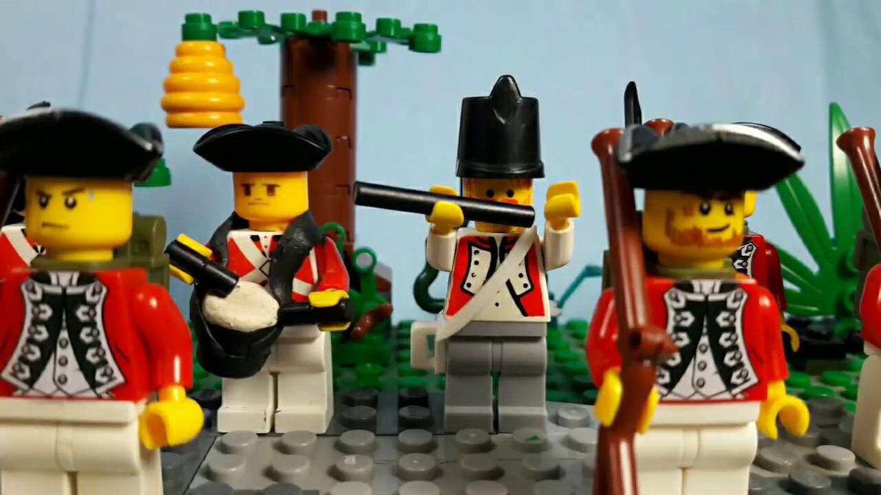 Lego American Revolution Battle of Bunker Hill