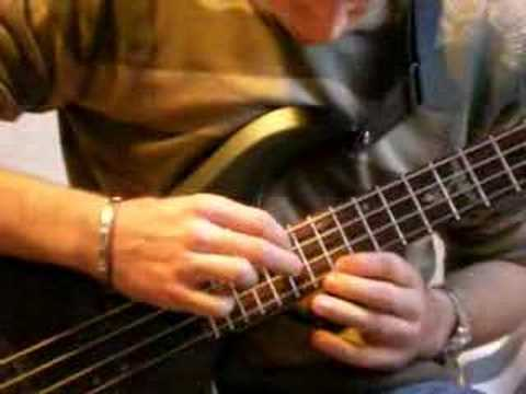 Tapping bass song