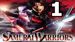 Samurai Warriors Walkthrough Part 1 - No Commentary Playthrough (PS2)