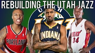 NBA 2K15 MyLEAGUE: Rebuilding the Utah Jazz!