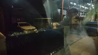 西武バス飯能営業所ラストRA車窓