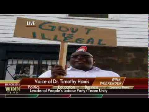 "St.Kitts-Nevis WINN FM Special Report- ""PROTESTS"""