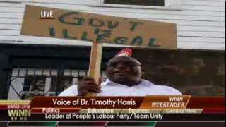 """St.Kitts-Nevis WINN FM Special Report- """"PROTESTS"""""""