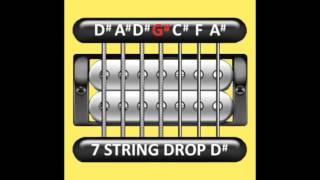 Perfect Guitar Tuner (7 String Drop D# = D# A# D# G# C# F# A#)