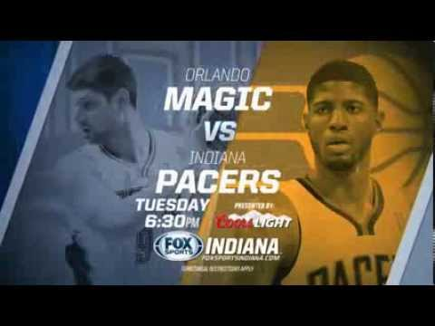 Indiana Pacers 2013-14 season opener on FOX Sports Indiana