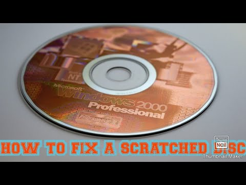 How to fix a scratched disc (new intro)