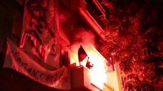 Exarcheia Resist: Anarchists take riot police by surprise and reoccupy an evacuated squat