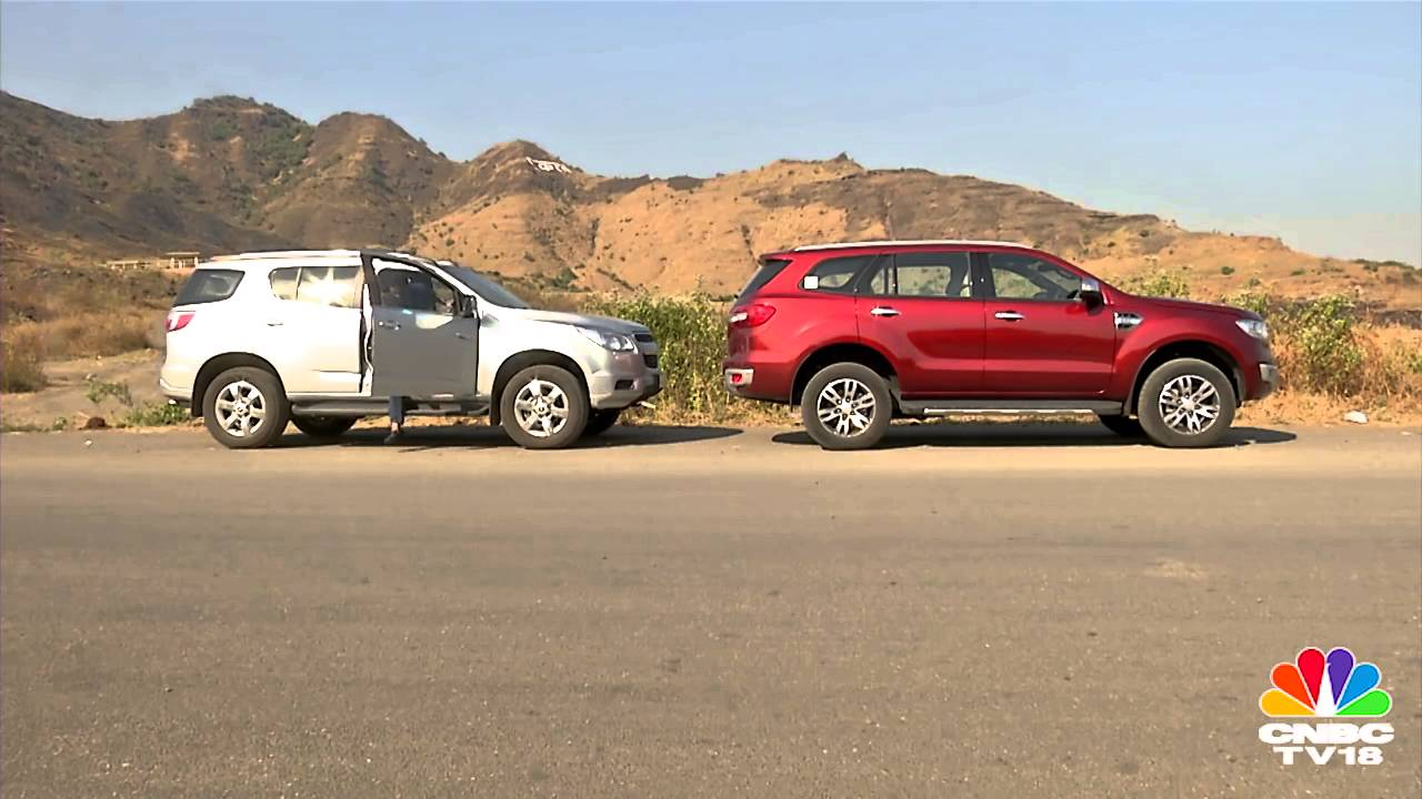Ford Endeavour vs Chevrolet Trailblazer  Comparative Review  YouTube