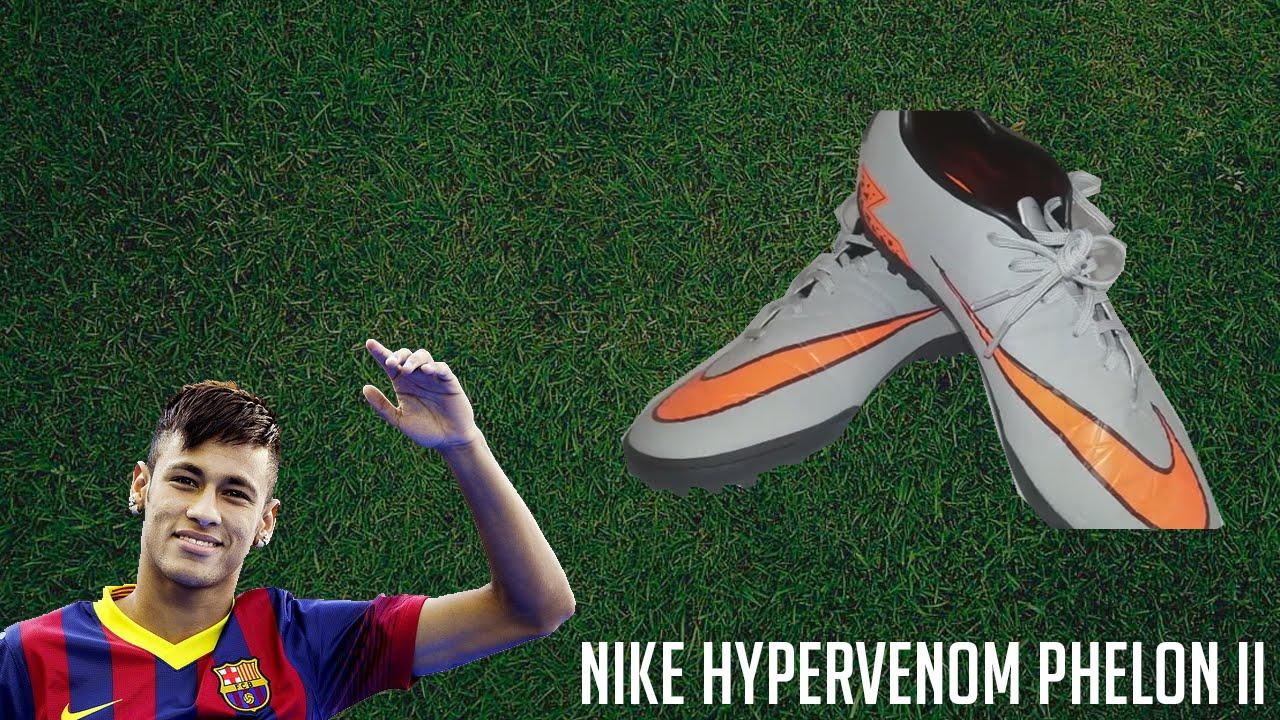 Chuteira Nike Hypervenom Phelon II (Neymar) - Unboxing - YouTube 0ccf338be780a