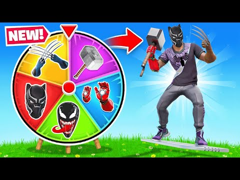 The *RANDOM* MYTHIC WEAPONS Challenge in Fortnite!