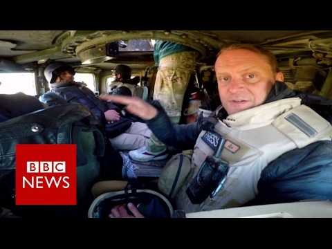 Islamic State: Battle for Mosul by land and air - BBC News