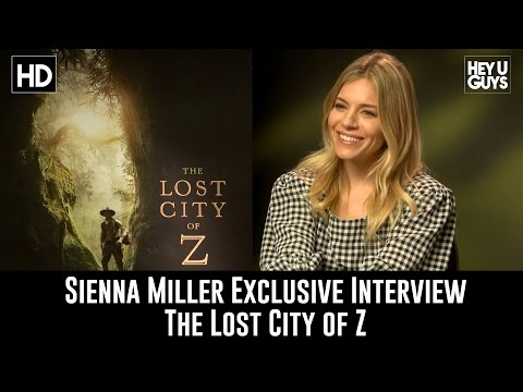 Sienna Miller Exclusive Interview - The Lost City of Z