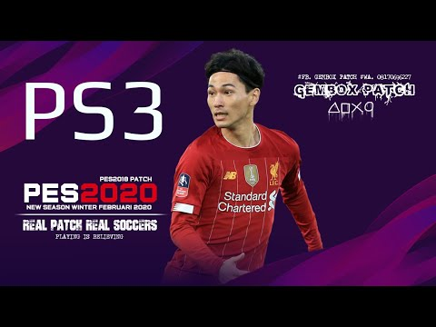 PES 2020 GEMBOX PATCH WINTER PS3