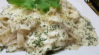 How To Make G-free Chicken Fettuccine Alfredo Recipe