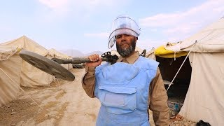 A Day with Afghan Deminers