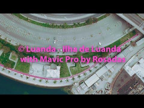 Drone Mavic Pro Flight 001   Angola / Luanda