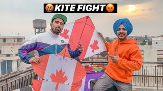 Kite Fight W/  Gauravzone 😱