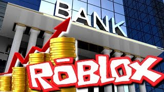 ON FABRIQUE OF THE ARGENT AND ON OPEN A BANK - ROBLOX