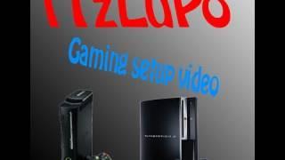 My Gaming Setup | iTzLuPo Xbox 360 Room Setup!
