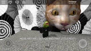 ROBLOX- Escape cats obby. Poop on desc