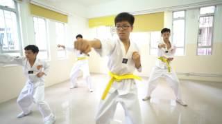啟動課程_中學跆拳道表演