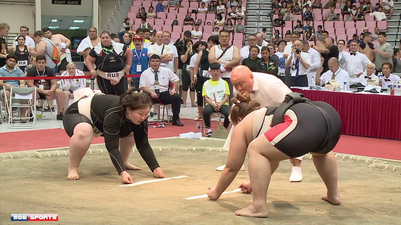 Women's Heavy-weight Final: World Sumo Championshion
