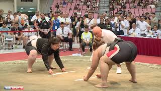 ::Women's Heavy-weight Final:: 2018 World Sumo Championship 女重量級決賽 世界盃相撲錦標賽 網路直播