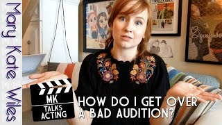 MK Talks Acting: How Do I Get Over a Bad Audition? Thumbnail
