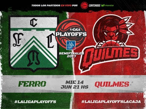 Liga Nacional: Ferro vs. Quilmes | #LaLigaEnTyC