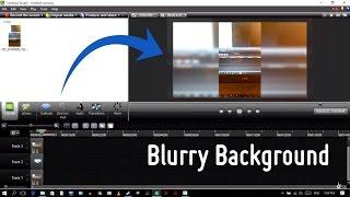 Camtasia Tutorial: Add Blurry Background to Vertical/Portrait Video