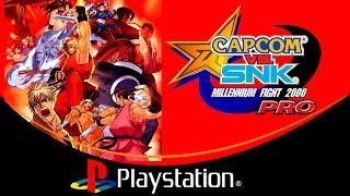 Capcom vs. SNK: Millennium Fight 2000 PRO [PlayStation]