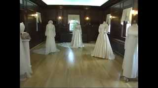 NEWSLINE: Kentlands Mansion Vintage Bridal Gown Exhibit