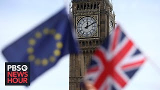 Ahead of election, British voters grapple with Brexit, division and distrust