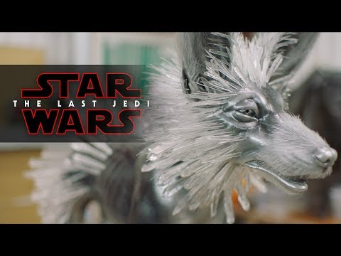 Creating Crystal Foxes - Showdown on Crait | Star Wars: The Last Jedi