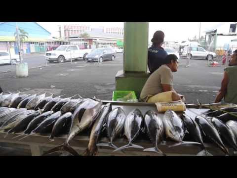 Samoa Upulu Marché aux poissons / Samoa Upulu Fish market