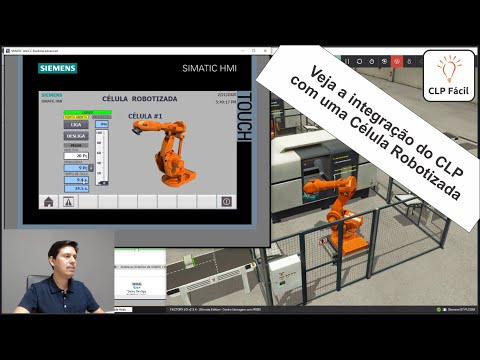 Curso De CLP Online + Mini-Curso Bônus Da Integração Do CLP Com A Célula Robotizada