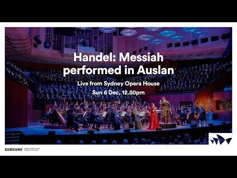 Handel: Messiah - performed in Auslan (Australian Sign Language).