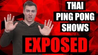 Thai Ping Pong Shows EXPOSED - Do NOT go to a Ping Pong Show in Bangkok Thailand