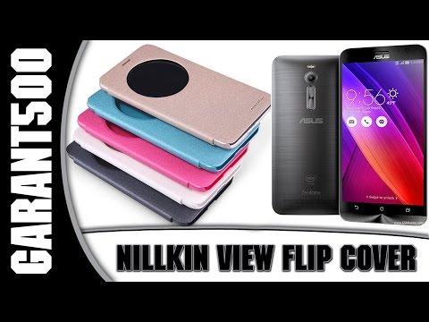 View Flip Cover для Asus Zenfone 2! Посылка с Aliexpress!