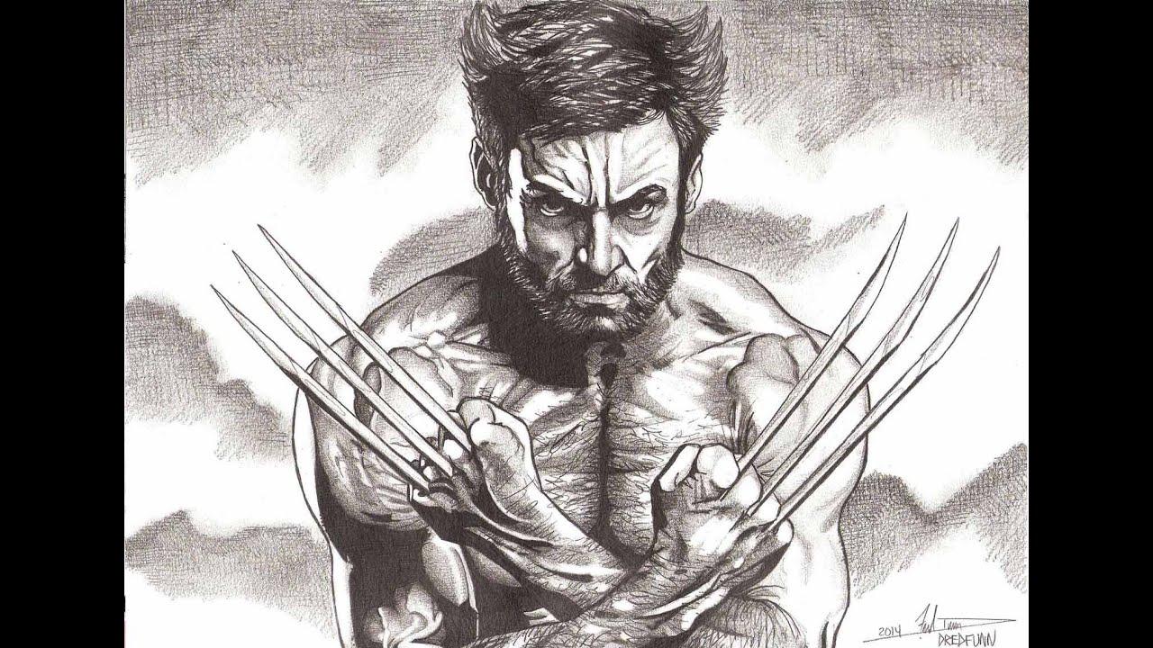 Hugh Jackman Wolverine A Dredfunn Mechanical Pencil ...