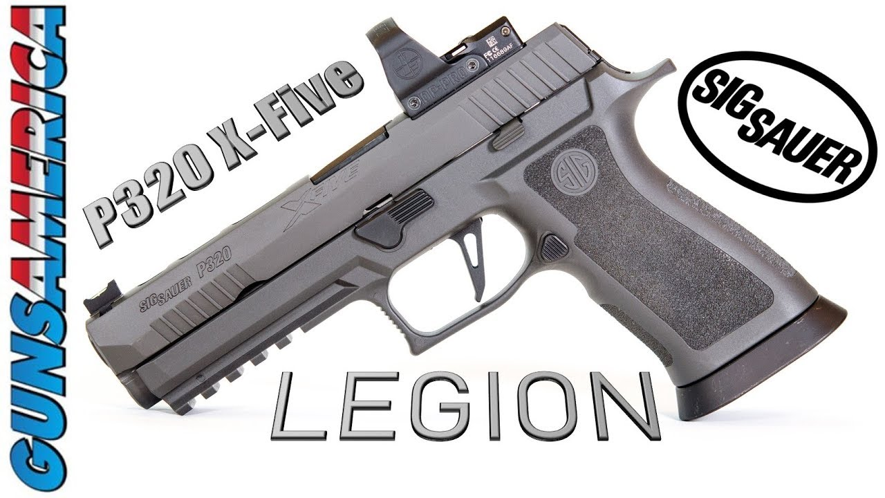 sig sauer p320 x5 legion for sale