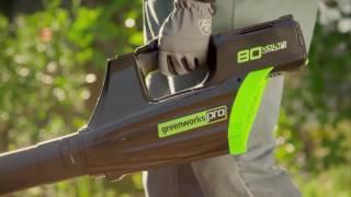 GreenWorks 80 Volt Li-Ion 500 CFM Blower - Model# GBL80300