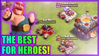 MOST OP ATTACK STRATEGY EVER!? | BEST WAY TO FARM HEROES TH11! | CLASH OF CLANS | ROAD TO TH12 |