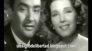 """Libertad Lamarque y Pedro Vargas """"Quiéreme mucho"""""""