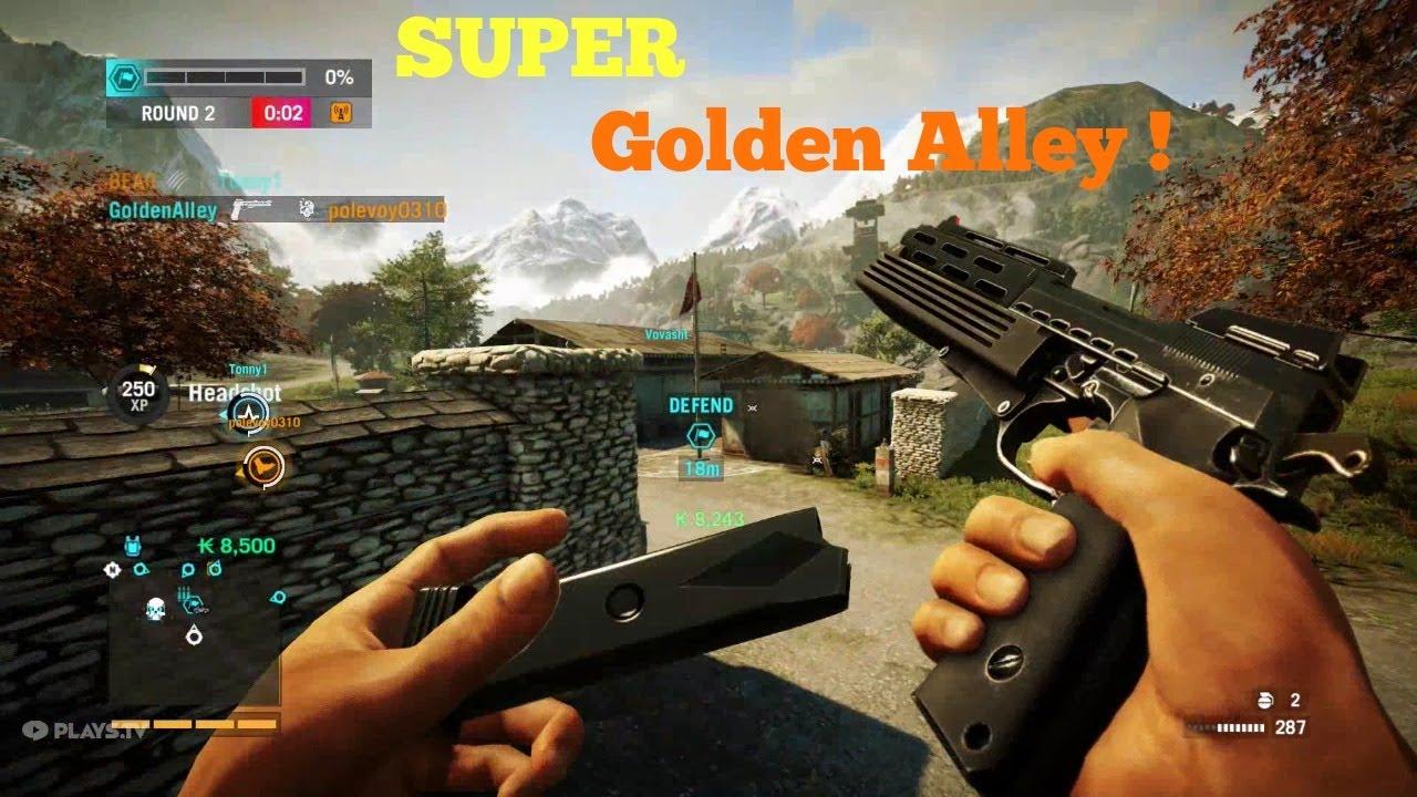 Играть золотой пистолет 2