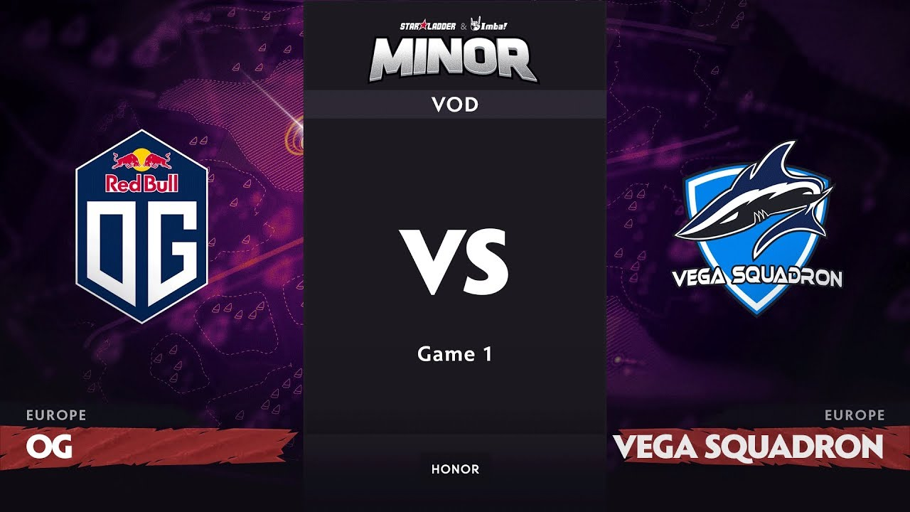 [RU] OG vs Vega Squadron, Game 1, EU Qualifiers, StarLadder ImbaTV Dota 2 Minor