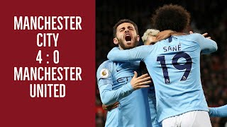 Manchester United vs Manchester City, Player Ratings, Match Stats, English Premier League highlights