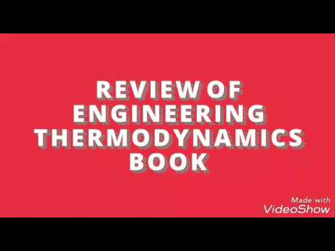 Review of Engineering Thermodynamics Book