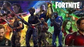 FORTNITE AVENGERS: INFINITY WAR - Fortnite Battle Royale Funny Moments (Ultra Instinct in Fortnite)