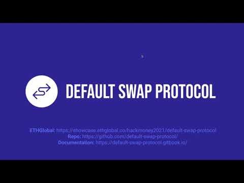 ETHGlobal - Default Swap Protocol